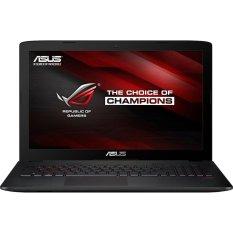 Toko Jual Asus Rog G752Vt Gc344T 17 3 Fhd Intel Core I7 6700Hq Ram 8Gb Gtx980M 8Gb Win 10 Abu Abu