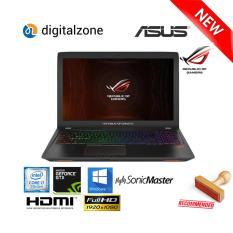 ASUS ROG GL553VE FY404T - Intel Core i7 7700HQ - 8GB RAM - 1TB HDD - GTX1050Ti - W10 - 15.6 inch FHD