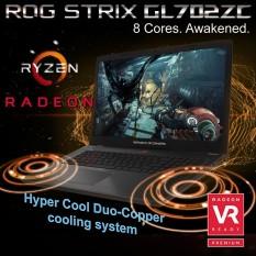 Asus STRIX ROG GL702ZC GC824T RYZEN7-1700 1TB SSHD 256 SSD 8GB DDR4 win10
