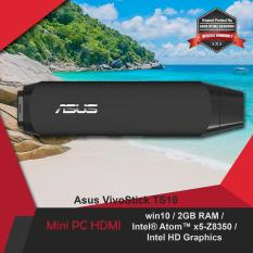 Asus VivoStick Mini PC TS10 Intel Atom Windows 10 2GB RAM Resmi