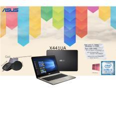 Asus X441UA core i3 7100u ram 4gb hardisk 1tb intel grafis 620 get bonus