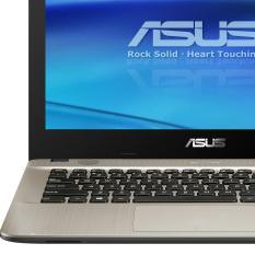 ASUS X441UA-WX321T - IntelCore i3-6006U-RAM 4GB-HDD 1TB-14inch-Win10 - Black