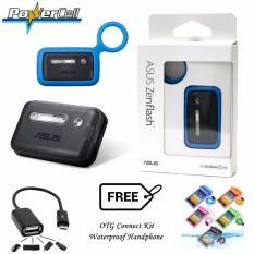 Asus Zenflash Flash Light Camera Zenfone Original + Gratis Otg Connect Kit & Waterproof Handphone