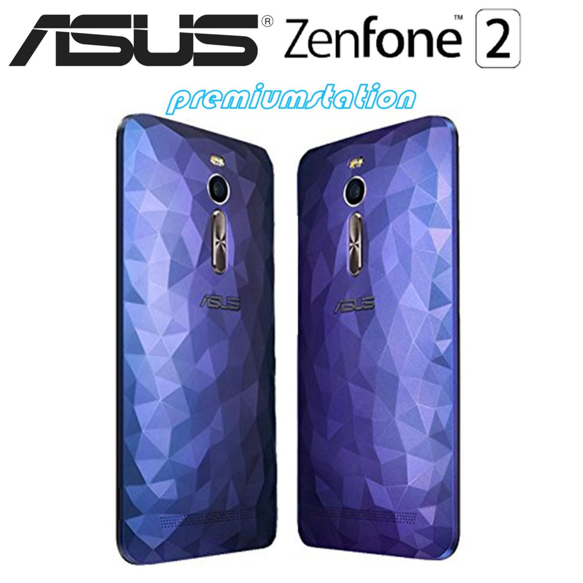 Asus Zenfone 2 Case Backdoor Blue Class Illusion ZE551ML