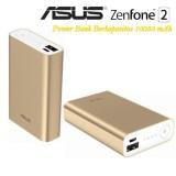 Jual Asus Zenfone 2 Power Bank Fast Gadget Charger Kapasitas 10050 Mah Gold Baru