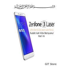 Asus Zenfone 3 Laser 4/32 16MP Fingerprint -Garansi Resmi- Silver-Terbaik