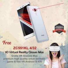 Asus Zenfone 3 Laser 5.5'' 4G 4/32 16MP Fingerprint + Free VR Glasses - Silver
