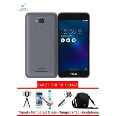 Asus Zenfone 3 Max ZC520TL 2/32 Grey Free Paket Super Hemat