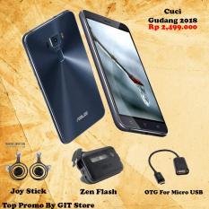 Asus Zenfone 3  ZE520KL RAM 4GB Black Full Metal Body Clean Termurah