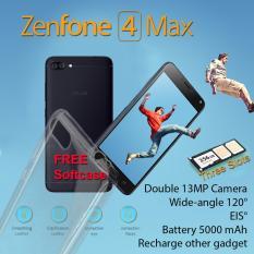 Harga Asus Zenfone 4 Max Zc554Kl 32Gb Ram 3Gb Garansi Resmi Free Softcase Satu Set