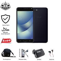 Asus Zenfone 4 Max ZC520KL 4G 3/32 13MP Black Garansi Resmi Free 4 Item