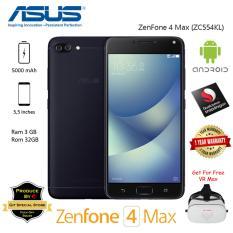 Jual Asus Zenfone 4 Max Zc554Kl 3 32Gb Dual Camera 16Megapixel Garansi Resmi Free Vr Max Feel The Fun Online Di Jawa Barat