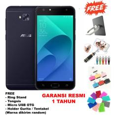 Asus Zenfone 4 Selfie Zd553Kl 4Gb 64Gb Garansi Resmi Free 4 Item Accessories Black Original