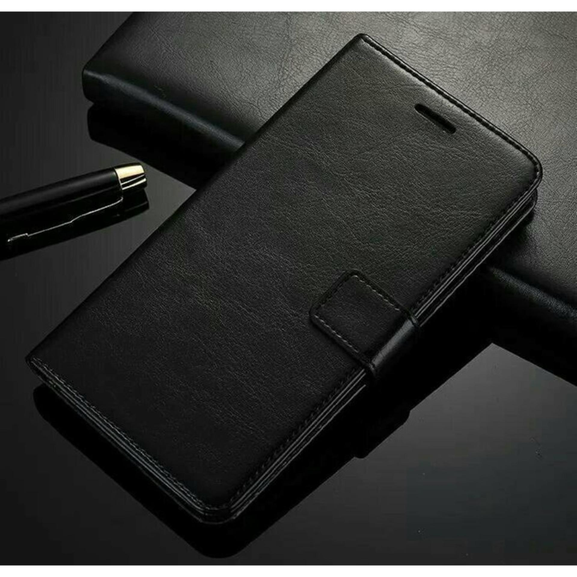 Asus zenfone 5 Wallet flip Cover Card Case Leather dompet kulit