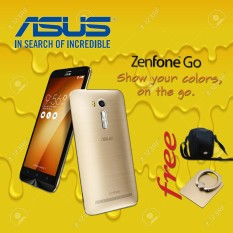Asus Zenfone GO ZB450KL 4G LTE Gold FREE Tas Hp + Ring Holder