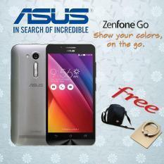 Asus Zenfone GO ZB450KL 4G LTE Silver FREE Tas Hp + Ring Holder