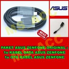 Asus Zenfone Kabel Data Micro Usb + Asus OTG Micro Usb Original - Paket Hemat