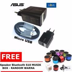 Asus Zenfone Travel Charger 5V 2A Original NonPack Fast Charging Free Speaker Bluetooth S10 Big Bass