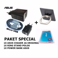 Promo Asus Zenfonetravel Adapter Charger 5V 2A Original Powerbank Slim Ring Stand Dki Jakarta