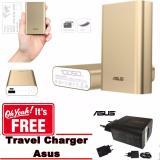 Review Asus Zenpower Powerbank 10050Mah Gratis Asus Travel Charger Gold