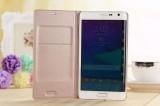 Promo Toko Asuwish Flip Cover Untuk Samsung Galaxy Note Edge N9150 N915 N915F Slim Asli Telepon Case Dompet