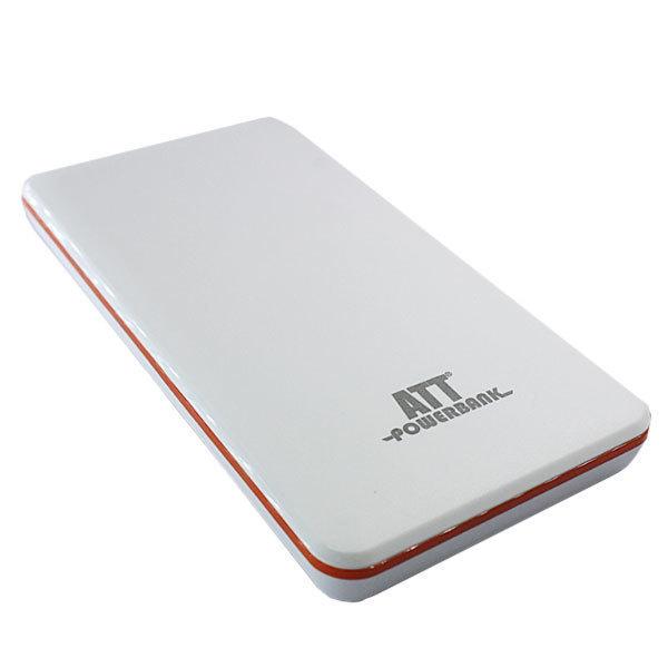 ATT Wireless Powerbank 7200 Putih-Oranye