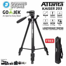 Attanta Kaiser 203 Light Weight Tripod Video Camera DSLR with Bag