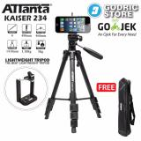 Harga Attanta Kaiser 234 Video Lightweight Tripod Camera Dslr Smartphone With Holder U Origin