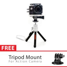 Review Toko Attanta Mini Tripod M 103A Hitam With Tripod Mount For Gopro Brica B Pro Xiaomi Yi Camera