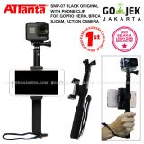 Attanta Smp 07 Original Black Phone Clip For Gopro Action Camera Dslr Smartphone Camera Pocket Mirrorless Dki Jakarta