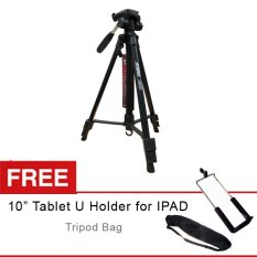Attanta Tripod - Kaiser 203 untuk kamera DSLR dan Tablet Free Holder U Tablet 10inch