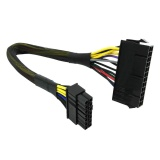 Jual Atx Adapter Cable 24 Pin To 14 Pin Psu Main Power Supply For Lenovo Ibm Dell Intl Grosir