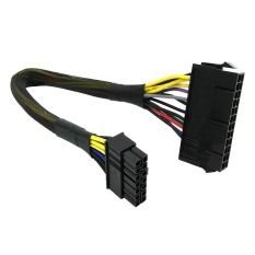 ATX Adapter Cable 24 Pin to 14 Pin PSU Main Power Supply for Lenovo IBM Dell - intl