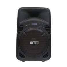 Aubern Speaker Portable Amplifier Wireless - Be-15cr - Hitam