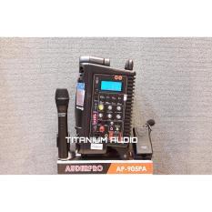 Jual Auderpro Ap 905Pa Portable Wireles Bluetooth Recorder Hitam Di Bawah Harga