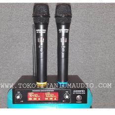 Harga Auderpro Wireless Microfon Jauh Jangkauan 50 Meter Ap 926Wm Hitam Branded