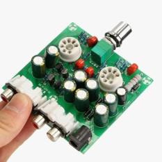 Audio 6J1 Katup Preamplifier Tabung HiFi Penyangga Preamp Rakitan Papan AC 12 V-Internasional