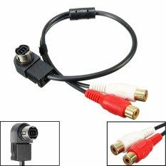 Audio Aux Kabel Audio Input Line Mobil Aksesori Untuk Alpine Kca 121 B Ai Net 2 Rca Baru Oem Murah Di Hong Kong Sar Tiongkok