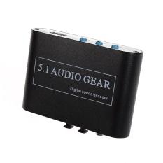 Jual Audio Decoder Digital Dol Oleh Dts Ac3 Optik Untuk 5 1 Analog Audio Gear Suara Decoder Spdif Intl Oem Asli