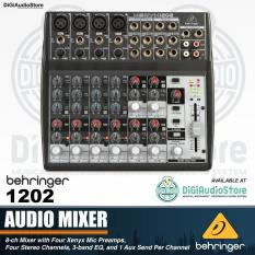 Audio Mixer Behringer Xenyx 1202 12 input - 8 Channel with 4 Xenyx Mic Preamps - 4 Stereo Channel PROMO BEHRINGER
