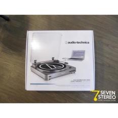 Audio Technica AT LP 60 Fully Automatic Belt Drive Stereo Turntable pemutar piringan hitam vinyl player bandung
