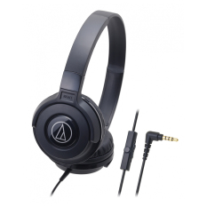 Audio Technica Ath S100Is Street Monitoring Headphone Hitam Di Jawa Barat