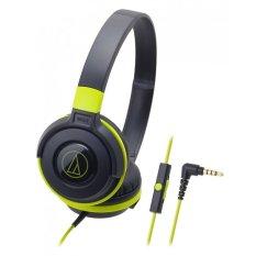 Review Toko Audio Technica Ath S100Is Street Monitoring Headphones Hijau