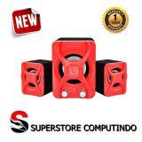 Ulasan Tentang Audiobox Speaker U Blast 2 1 Red Garansi Resmi