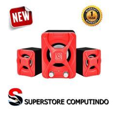 Jual Audiobox Speaker U Blast 2 1 Red Garansi Resmi Branded
