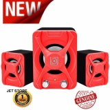 Spesifikasi Audiobox U Blast 2 1 Speaker Portable Merah Terbaru