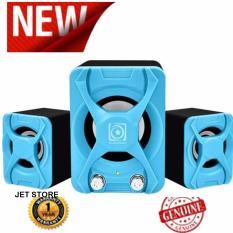 Spesifikasi Audiobox U Blast 2 1 Speaker Portbale Biru Bagus