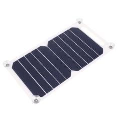 Aukey Baru 5 V Panel Pengisian Daya Solar Charger Usb Travel For Ponsel Pintar Tablet Promo Beli 1 Gratis 1