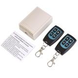 Aukey Baru Dc 12 V 4Ch 200 M Nirkabel Remote Control Switch 2 Transceiver Receiver Intl Terbaru