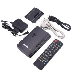AUkEy Baru Mini LCD LED CRT TV Box VGA AV DVD Program Digital Tuner Receiver Monitor-Intl